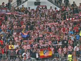 Atletico-Fans sorgen für echten Gänsehaut-Moment