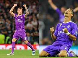 Kroos und Ronaldo: Doppel-Titel, Doppel-Weltklasse