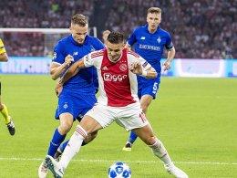 Gute Karten für Ajax Amsterdam