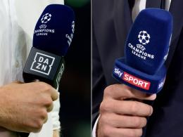 Sky und DAZN: Wer welche Champions-League-Spiele zeigt