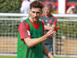 Sorgen beim FCB: Goretzka bricht Training ab