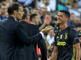 Ronaldos Rot-Premiere: