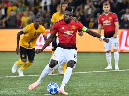 24 Schritte! Pogba dankt Mourinho nach kuriosem Elfmeter