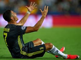 Nur ein Spiel Sperre für Ronaldo?