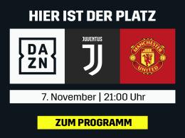 CR7 trifft auf Manchester United - live und in voller Länge bei DAZN
