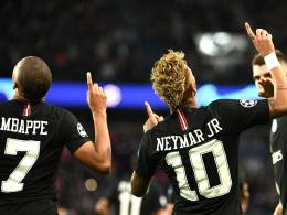 Dreimal Neymar, einmal Marin: PSG zerlegt Roter Stern Belgrad