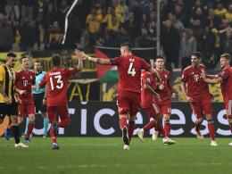 Dank Doppelschlag: Bayern besteht bei AEK Athen