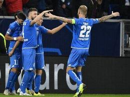 Ticker: Hoffenheims wildes 3:3 gegen Lyon