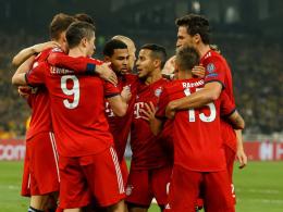Bilder: Bayern feiern in Griechenland
