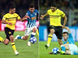 Mit Hakimi rollte der Dortmunder Schnellzug los