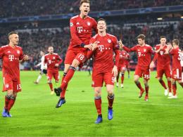 Bayern stürmt ins Achtelfinale - Hoffenheims Frust