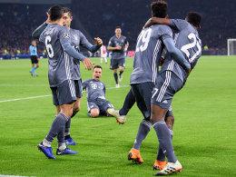 FCB nach Spektakel in Amsterdam Gruppensieger