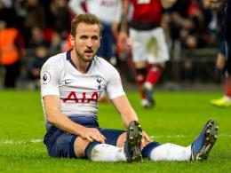 Kane fehlt gegen Dortmund - womöglich auch im Rückspiel