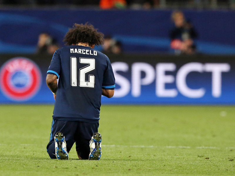 Er ist hinten links nicht mehr erste Wahl: Marcelo.