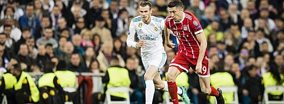 Robert Lewandowski und Gareth Bale