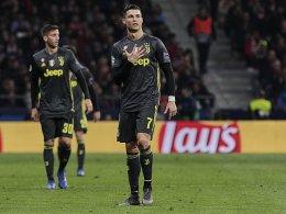 Frust! Cristiano Ronaldo mit provokanter Fünf-Finger-Geste