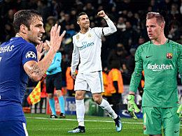 Feuer frei für Cristiano Ronaldo - Ter Stegen eine Bank