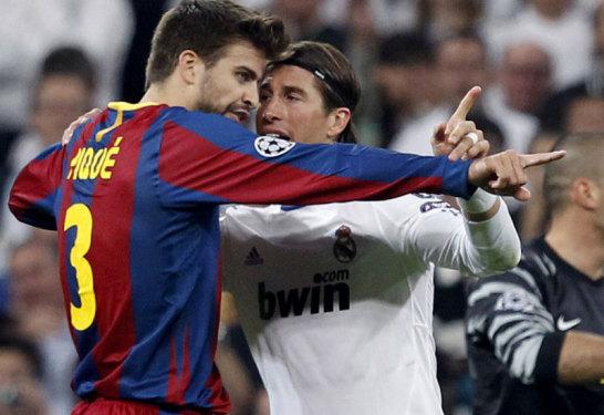 Gerard Piqu� und Sergio Ramos