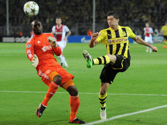 Kenneth Vermeer und Robert Lewandowski