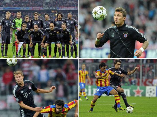Nach der bitteren Finalniederlage gegen den FC Chelsea nahm der FC Bayern M�nchen am Mittwochabend gegen den FC Valencia, Gegner beim letzten Triumph in der K�nigsklasse, einen neuen Anlauf in Richtung Titel