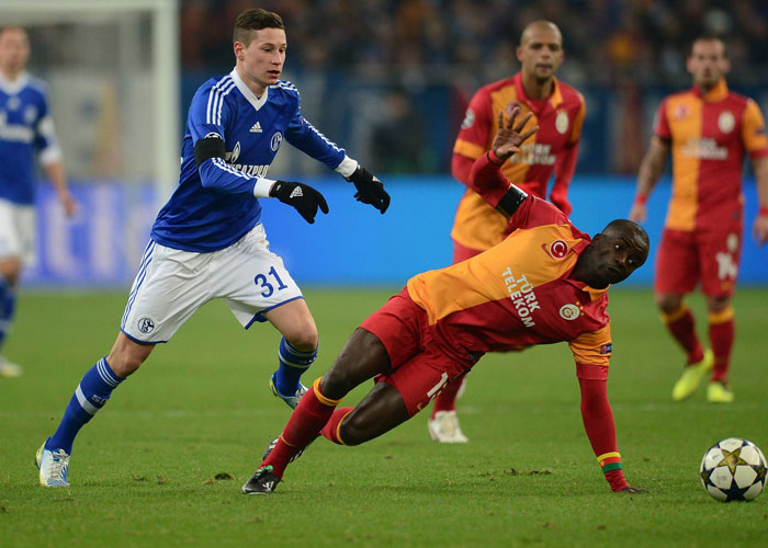 Julian Draxler (li.) im Achtelfinal-Rückspiel gegen Galatasaray