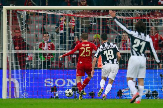 Müller trifft zum 2:0