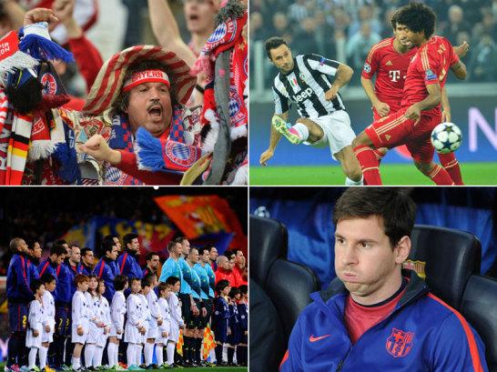 Dortmund hatte am Dienstag im Viertelfinale der Champions League gegen Malaga die Latte sehr hoch gelegt. In Barcelona und Turin hoffte man auf ein weiteres Fu�ballfest.