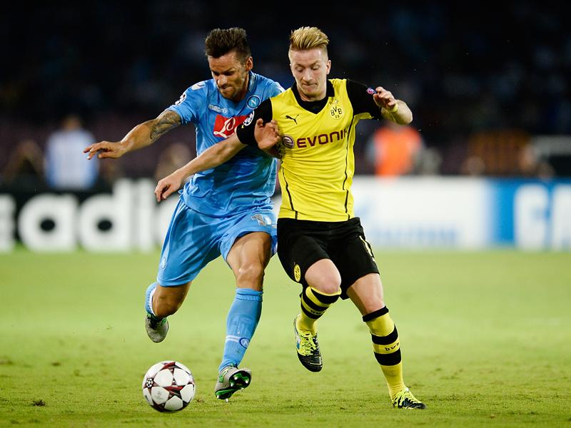 Marco Reus gegen Christian Maggio