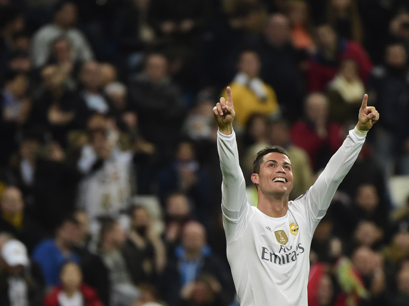 CR7 steht bei 95 Toren - Messi deutlich dahinter