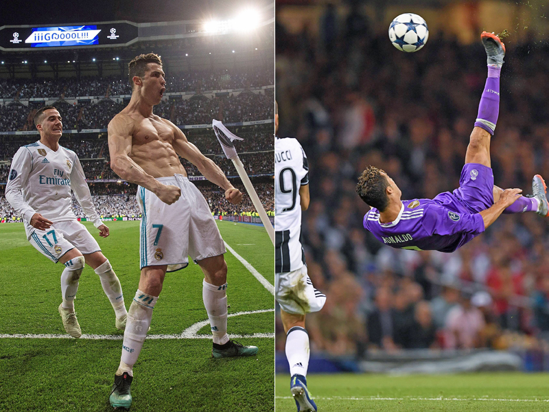 Ronaldo führt mit 120 Toren - Messi stockt auf
