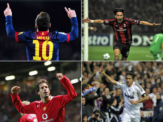 Ronaldo, Messi Raul & Co.: Die Top-Torj�ger der Champions League
