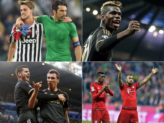 """""""Monster"""" Pogba, Legende Buffon und drei Riesen"""