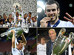 So bejubelt Real Madrid den Champions-League-Triumph