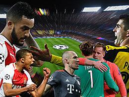 Champions-League-Achtelfinale: Torflut, Wunder und Rekorde