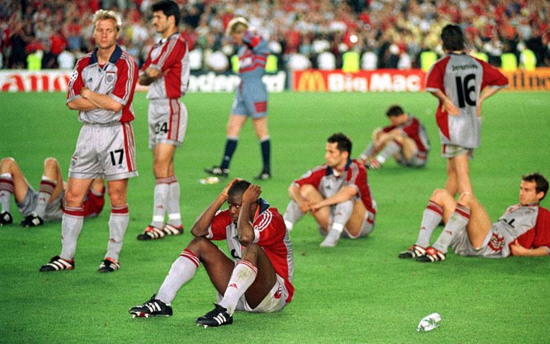 23. Mai 2001: Bayern mit Kahn und
