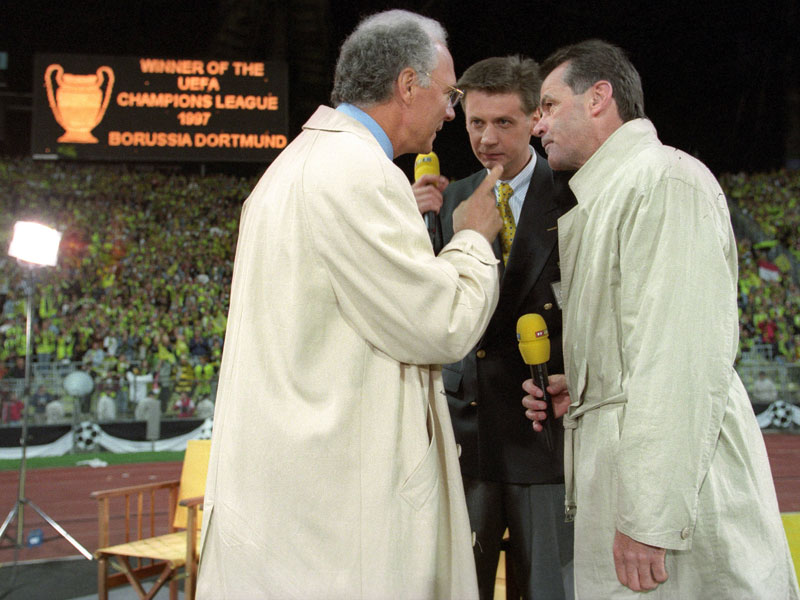 28. Mai 1997: Ricken schießt