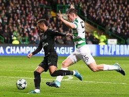 Doppelter Cavani: Paris hat keine Mühe gegen Celtic