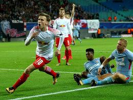 Forsbergs Treffer langt nicht zu RB-Debütsieg
