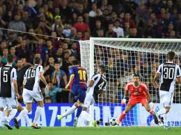 3:0 gegen Juventus: Messi knackt endlich Buffon