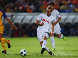Spurs feieren dank Dreierpack von Kane