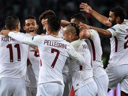 Dank Dzeko: Roma-Auswärtsfluch ade!