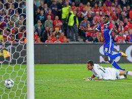 Basels Oberlin überragt beim 5:0 gegen Benfica