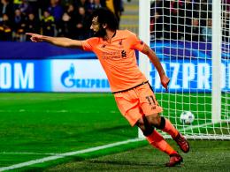 Salah und Firmino treffen doppelt: Kantersieg für Liverpool