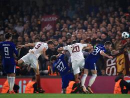Drei Tore gegen Conte reichen der Roma nicht