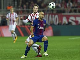 Piräus trotzt Barcelona ein Remis ab