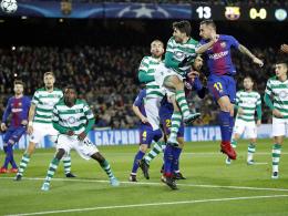 Paco Alcacer untermauert Barcelonas Gruppensieg