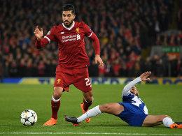 0:0 - Liverpool verwaltet sich ins Viertelfinale