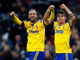 Higuain stellt in Wembley alles auf den Kopf