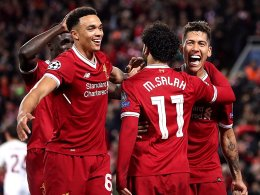 Salah zaubert, doch die Roma lebt noch
