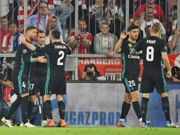 Marcelo und Asensio minimieren Bayerns Aussichten